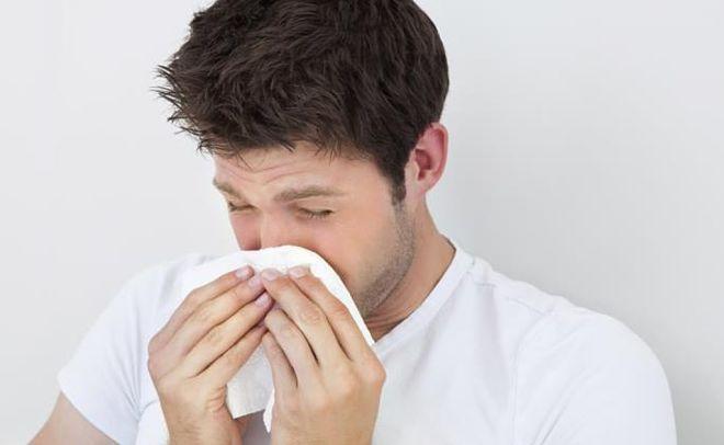 Аллергия у молодого человека