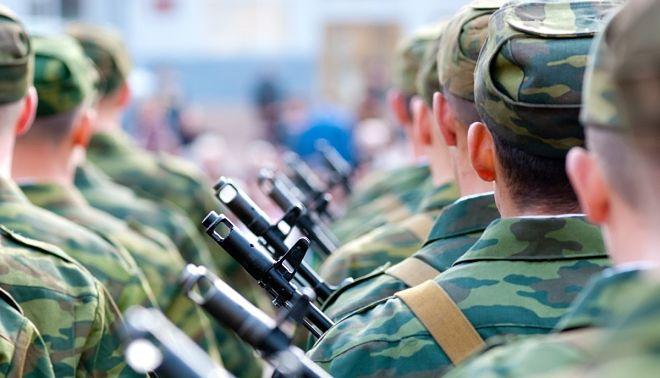 На службе в армии