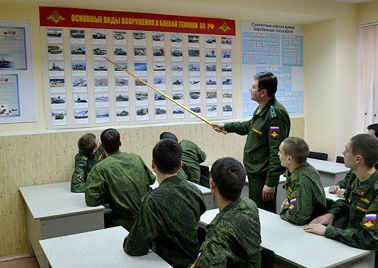 Подготовка военных