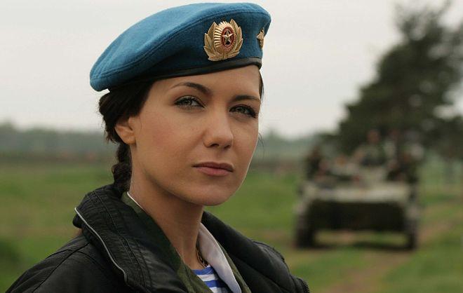 Военная девушка