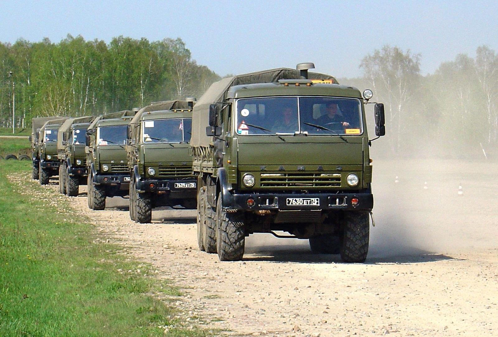 Автомобильные войска