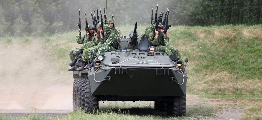 мотострелковый войска