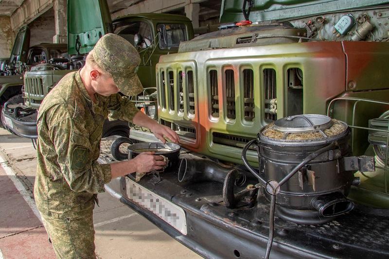 Обслуживание грузовика
